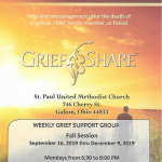Grief Share Fall Session